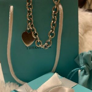 Tiffany &Co Heart Tag Necklace (Vintage)